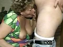 Lusty mature in wild act
