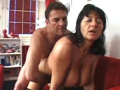 Old busty housewife fucked by hubby