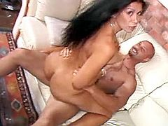 Gorgeous milf gets cream after fuck
