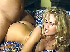 Blond milf fucked hard in all holes
