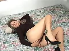 Attractive mature solo
