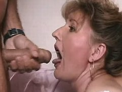 Granny cum in mouth videos