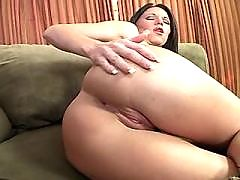 Brunette mom fucks in all positions